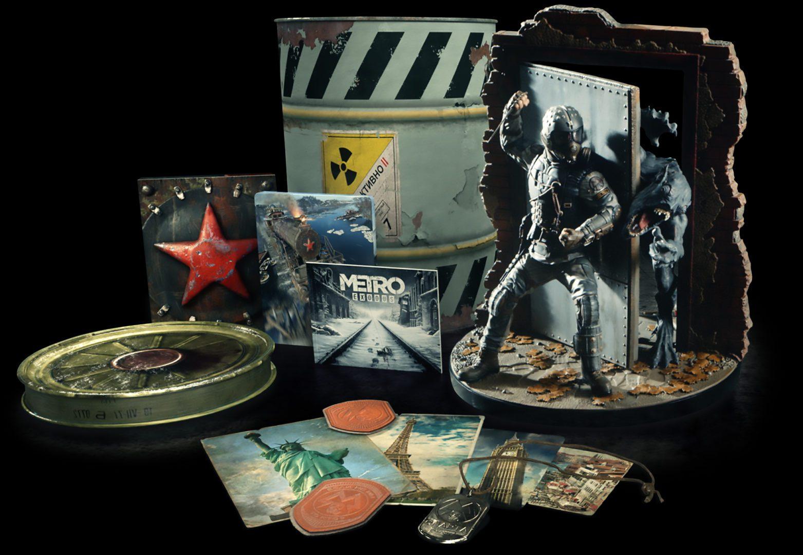 Metro Exodus Spartan Edycja Kolekcjonerska