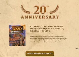 Anno 1602 za darmo na Uplay