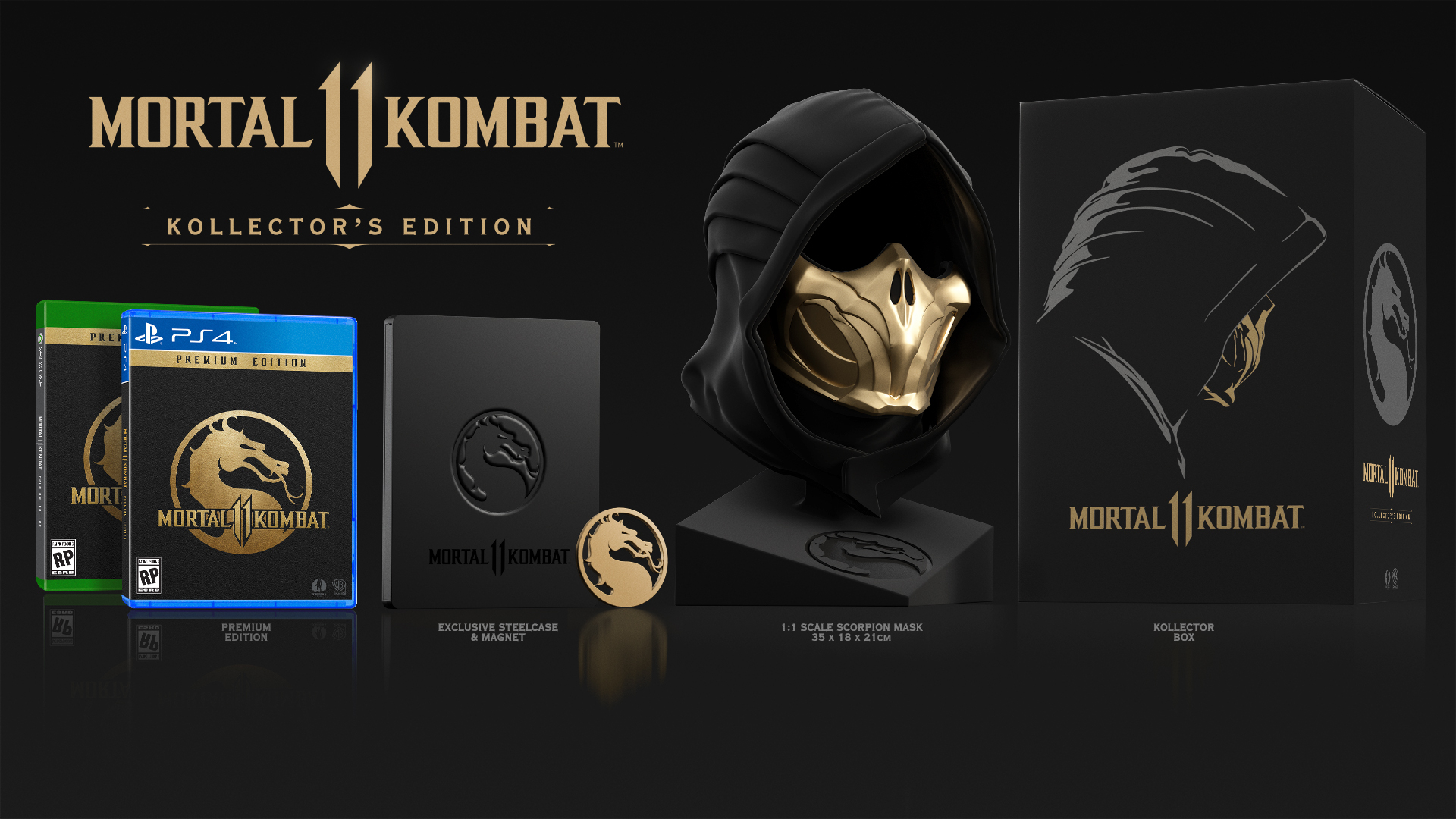 Mortal Kombat 11 edycja kolekcjonerska