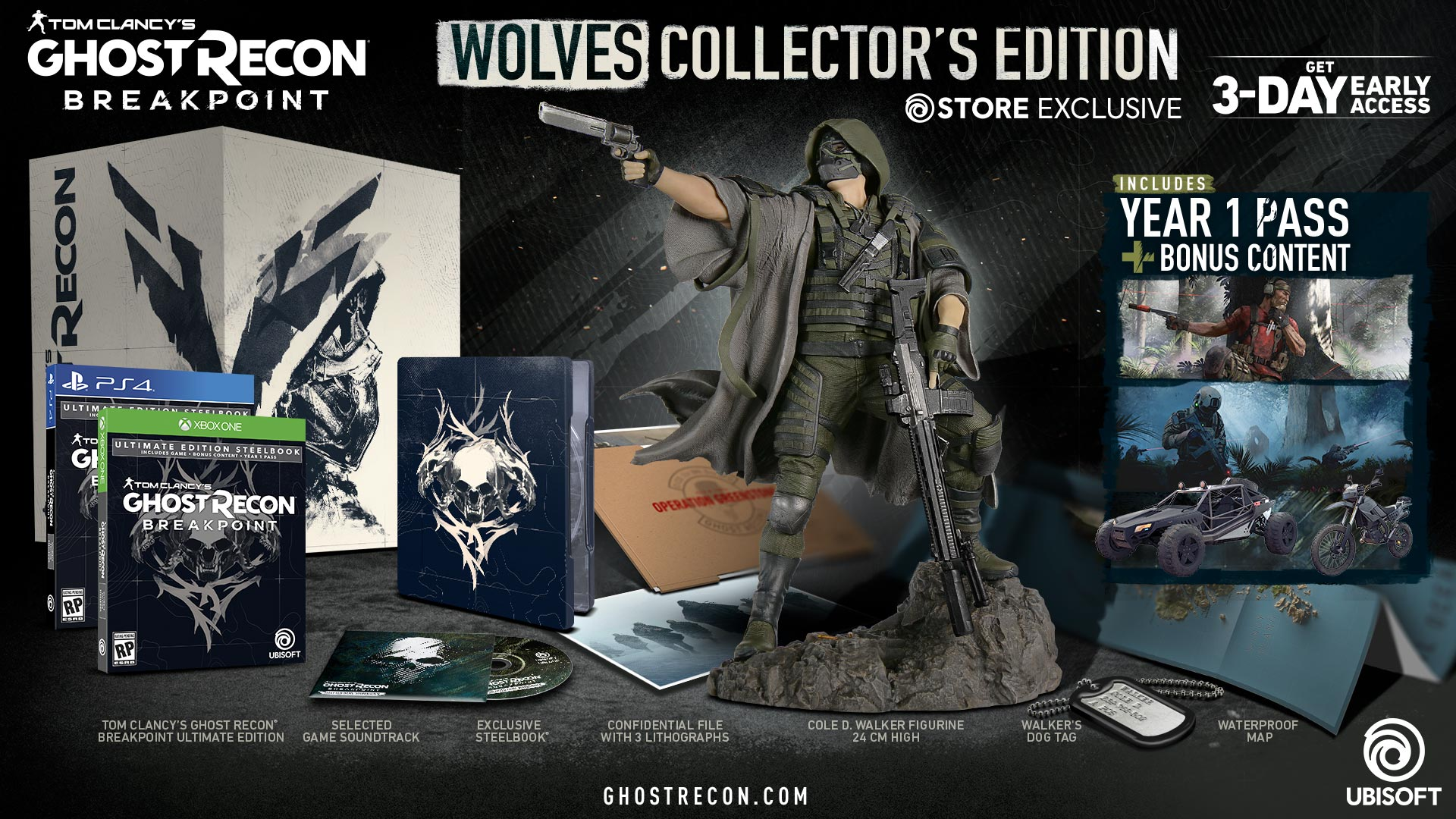 Ghost Recon Breakpoint Edycja Kolekcjonerska