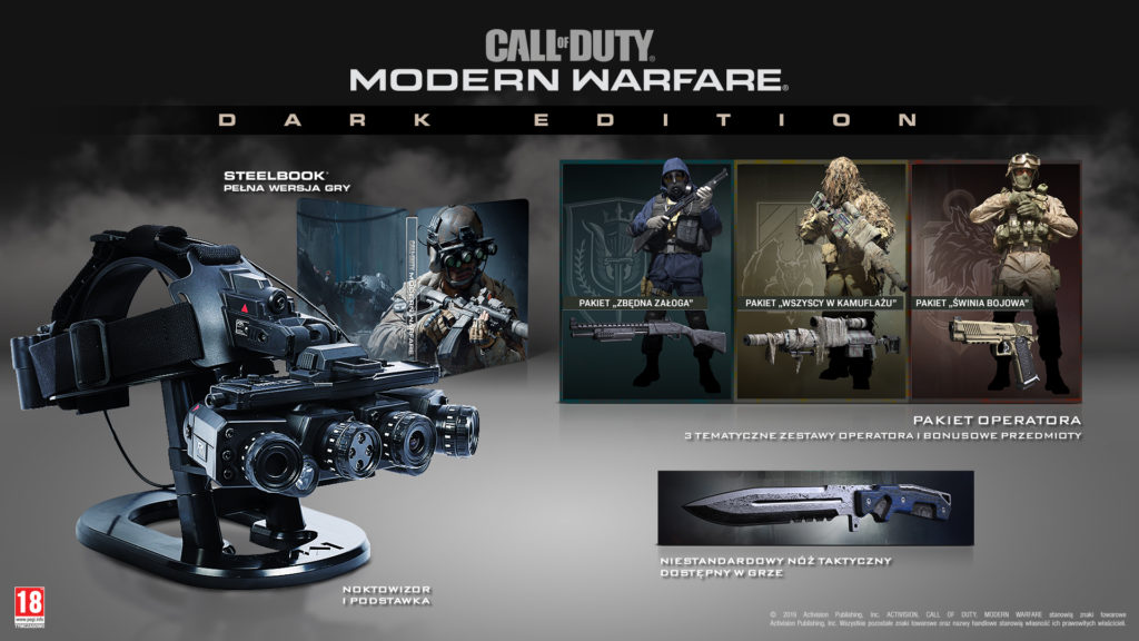 Call of Duty: Modern Warfare Dark Edition