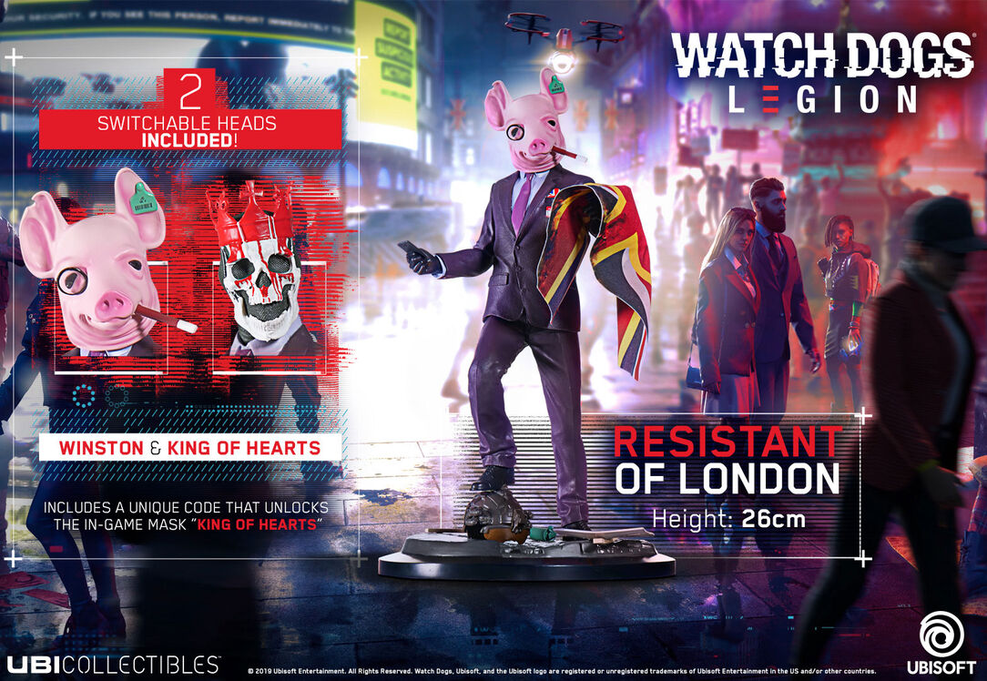 Watch Dogs: Legion figurka Resistant Of London