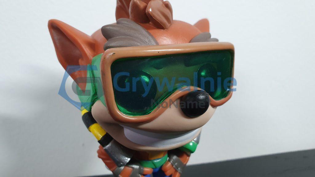 Crash Bandicoot with scuba gear GameStop
