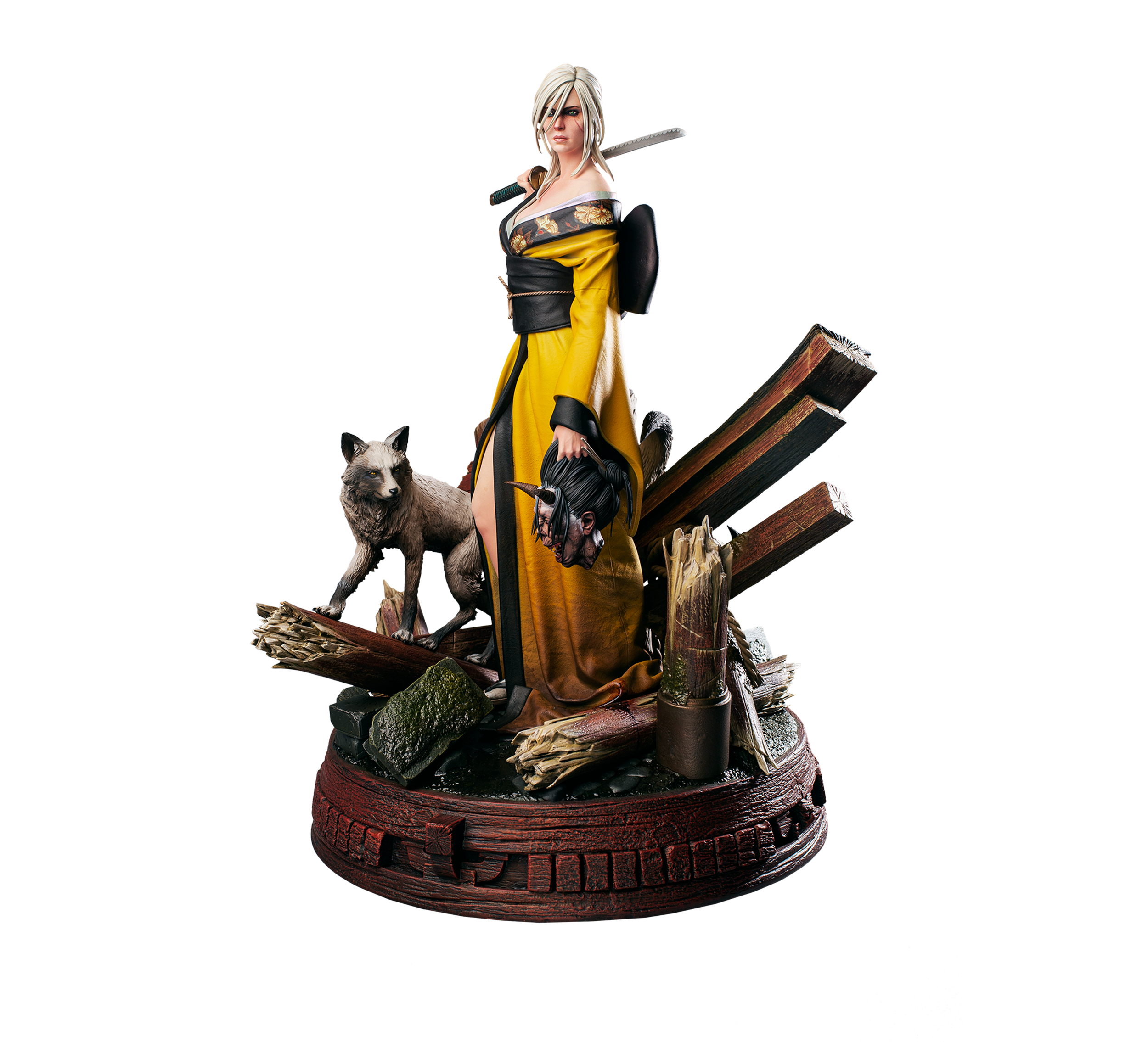 Figurka Ciri i Kitsune