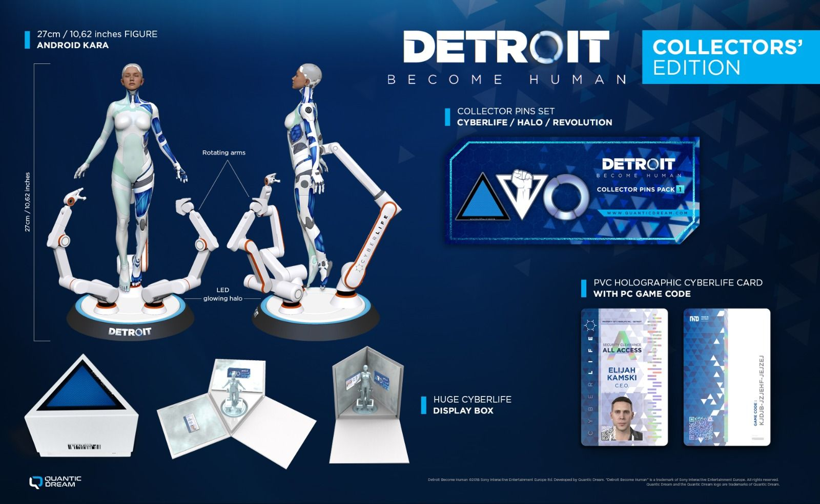 Detroit Become Human edycja kolekcjonerska.