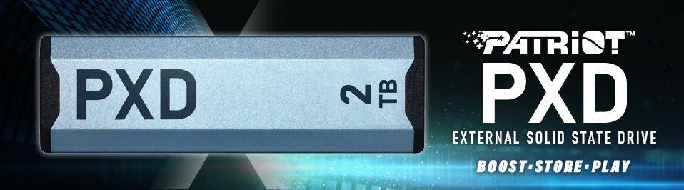 Patriot zapowiada zewnętrzny dysk SSD PCIe USB typu C