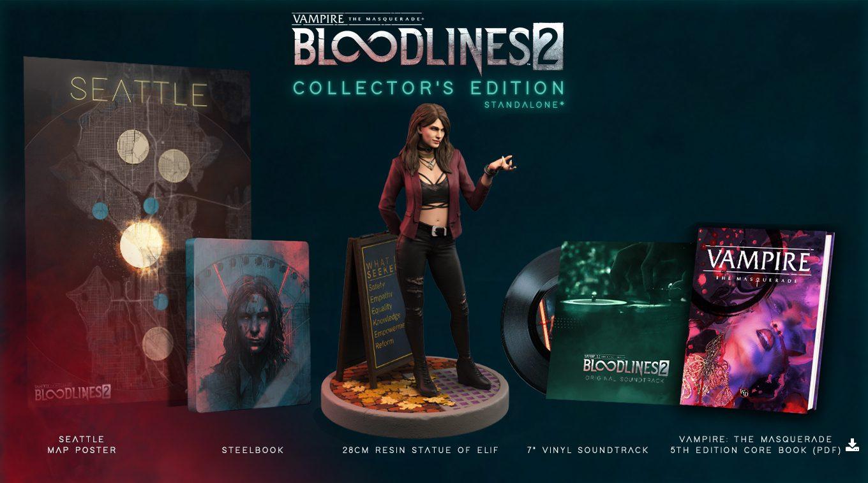 Vampire: The Masquerade – Bloodlines 2 Edycja Kolekcjonerska