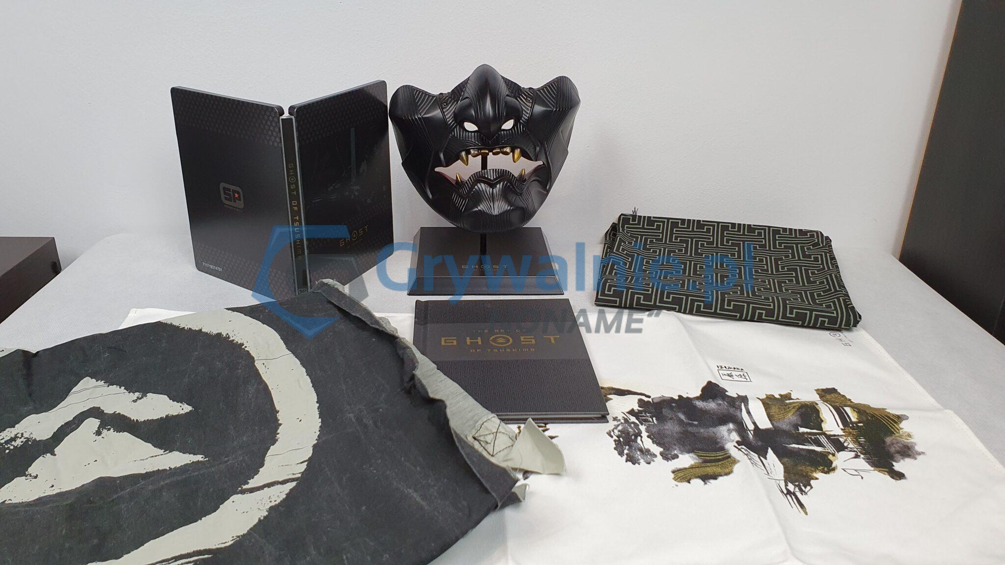 Ghost of Tsushima Edycja Kolekcjonerska - Unboxing