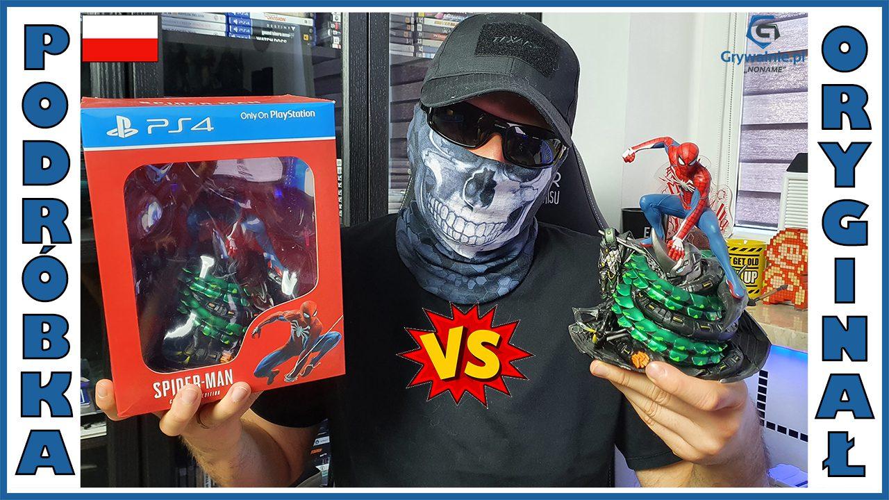 Spider-Man - Oryginał VS Podróbka (AliExpress) - UNBOXING PL