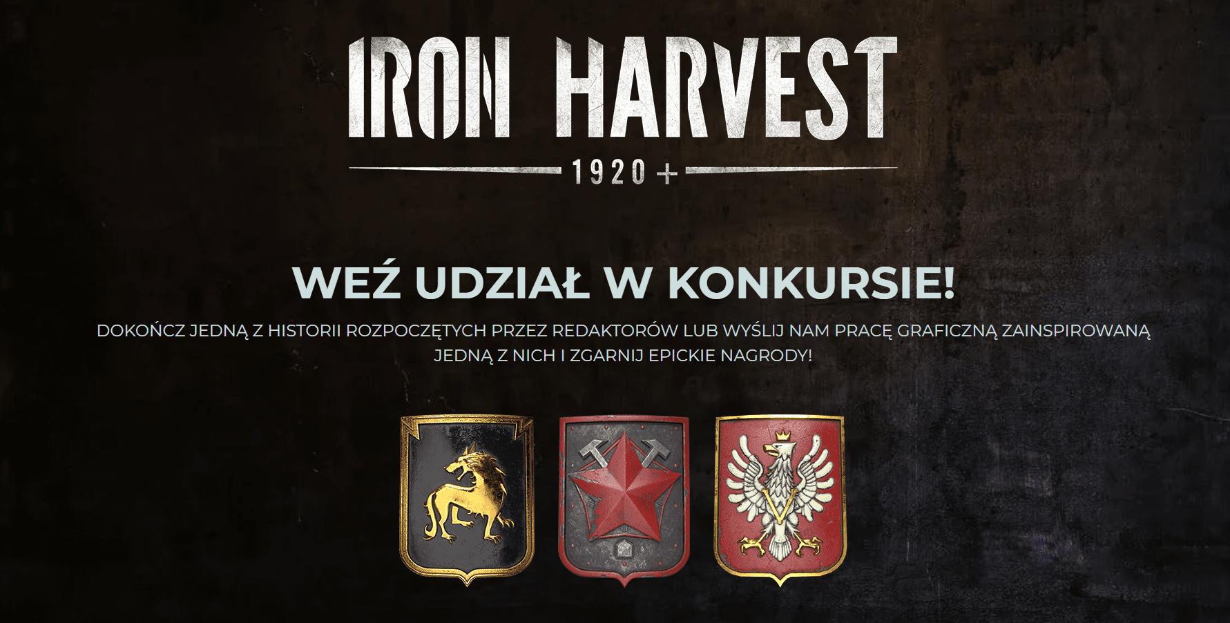 Konkurs Iron Harvest oraz iiyama na GRY-OnLine.pl