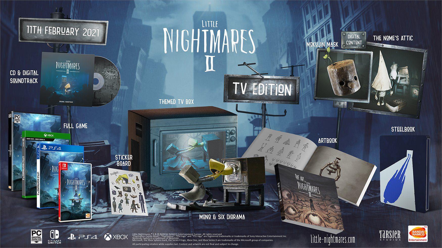 Little Nightmares II Edycja Kolekcjonerska
