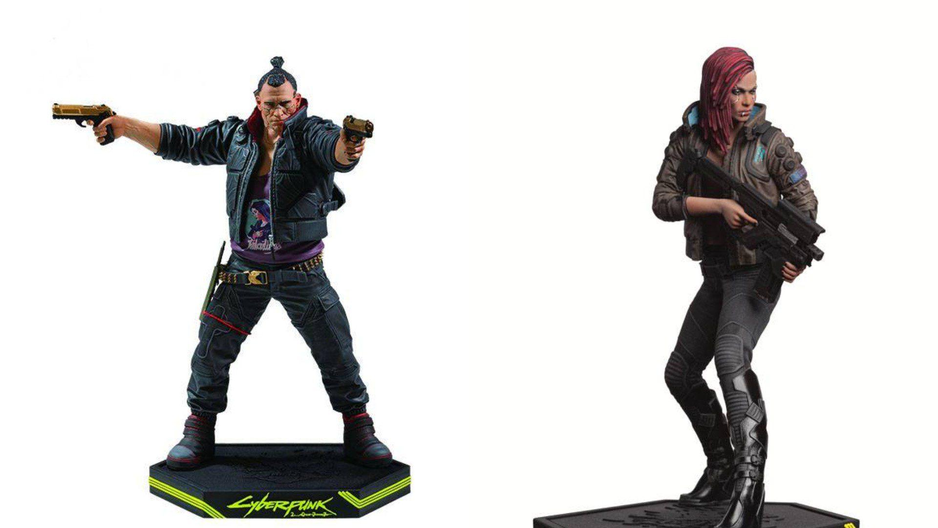 Cyberpunk 2077 nowe figurki od Dark Horse (Jackie Welles, Female V).
